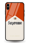 Supreme Alberot Glass Case for iPhone XS