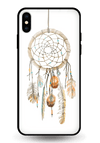 Dreamcatcher Spanua Glass Case for iPhone XS