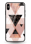 Sukona Triangles Glass Case for iPhone XS