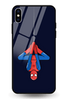 Spidey Glass Case for iPhone XS