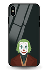 Sad Clown Glass Case for iPhone XS