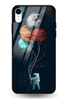 Planets In My Hand Glass Case for iPhone XR