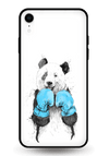 Panda Boxer Glass Case for iPhone XR
