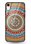 Indian Art 4 Glass Case for iPhone XR