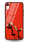 Red Clown Glass Case for iPhone XR