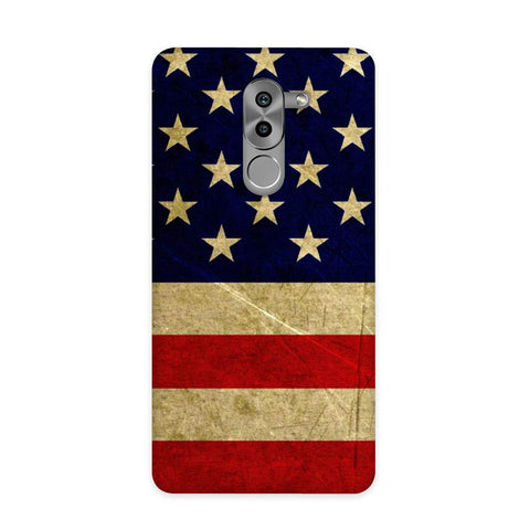 US Flag Case for Honor 6X