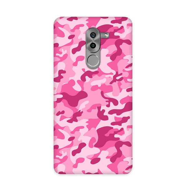 Pink Camouflage Case for Honor 6X