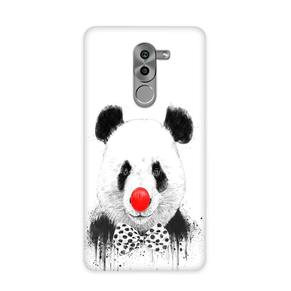 Panda With A Bow Case for Honor 6X