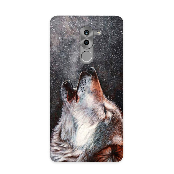 Winter Dog Case for Honor 6X