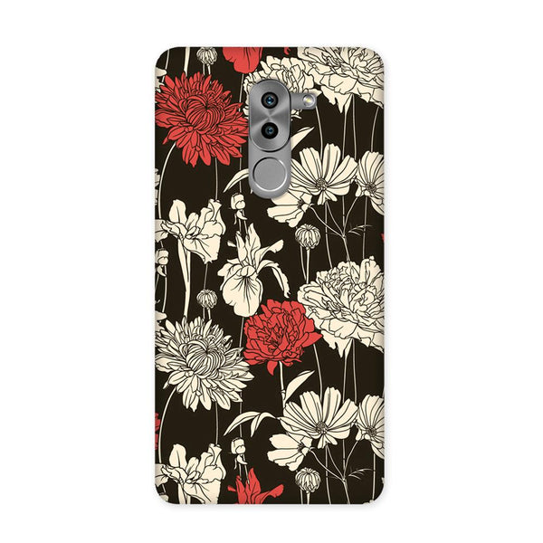 Black Flora Case for Honor 6X