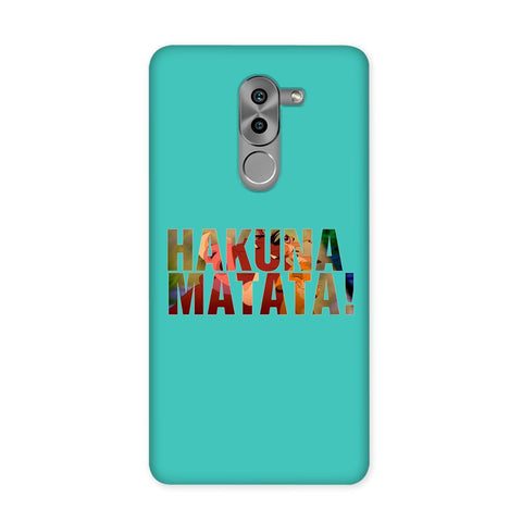 Hakuna Matata Blue Case for Honor 6X