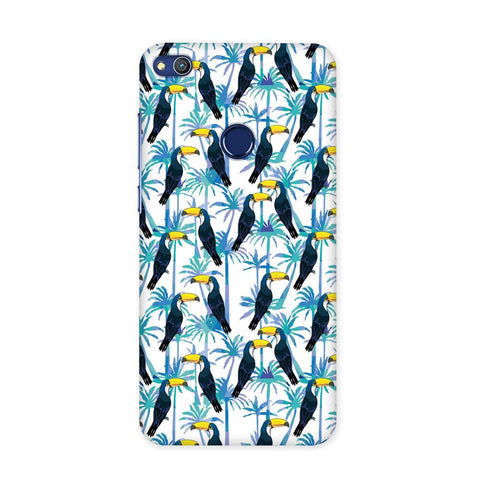 Birds in Tropical Case for Honor 8 Lite