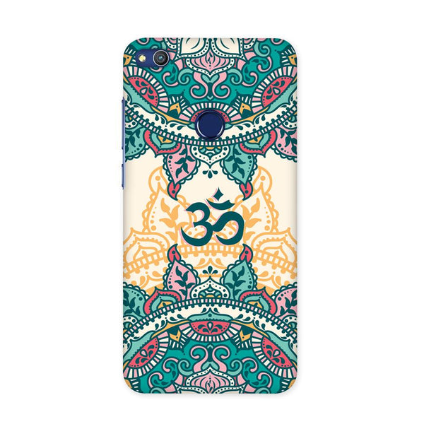 Aum Block Art Case for Honor 8 Lite