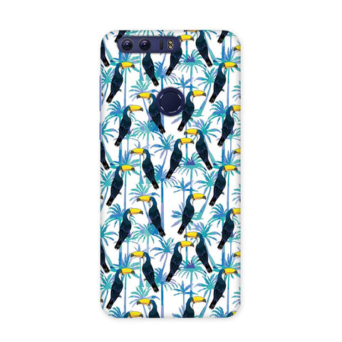 Birds in Tropical Case for Honor 8 Pro