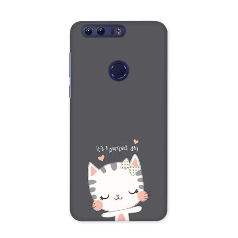 Purrfect Day Case for Honor 8 Pro