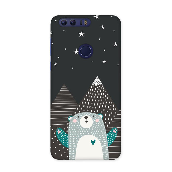 Bear Under The Stars Case for Honor 8 Pro