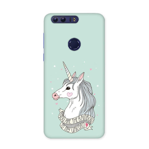RainBow To Unicorn Case for Honor 8 Pro