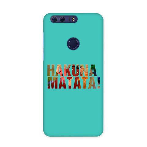 Hakuna Matata Blue Case for Honor 8 Pro