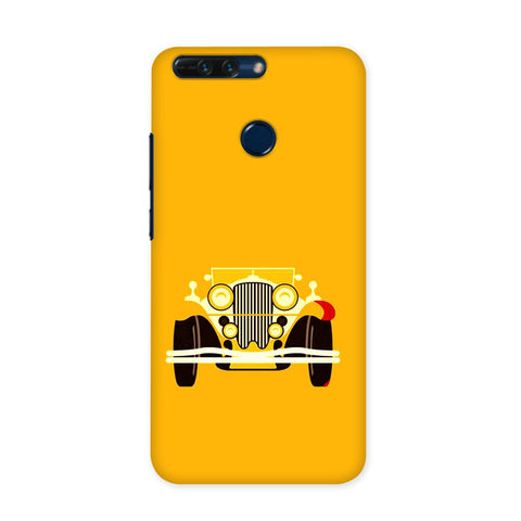 Vintage Car Case for Honor 8 Pro