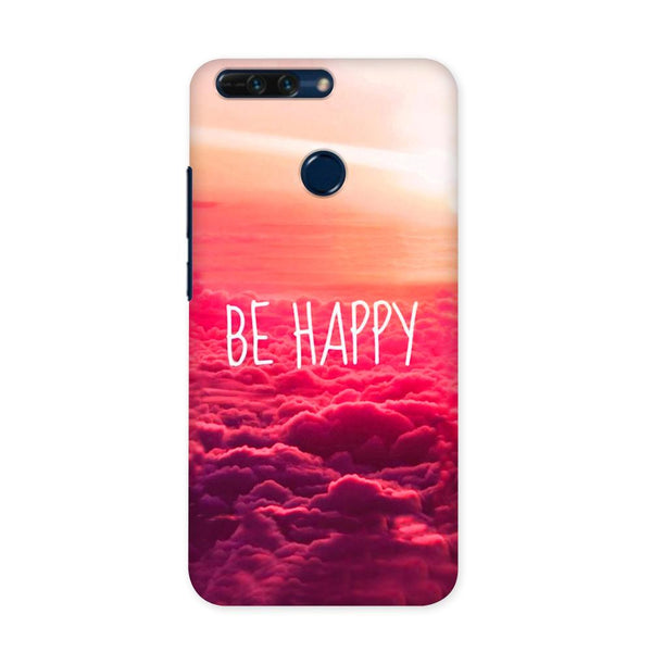 Be Happy Case for Honor 8 Pro