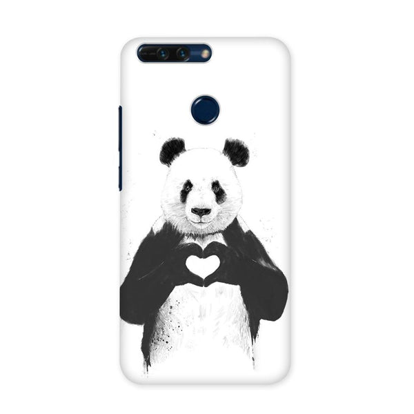 Panda in Love Case for Honor 8 Pro
