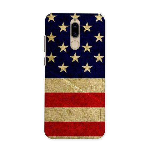 US Flag Case for Honor 9i