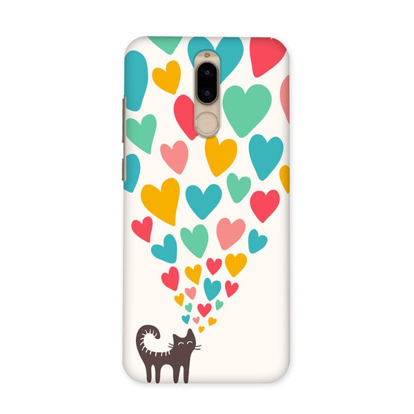 Cat In Love Case for Honor 9i