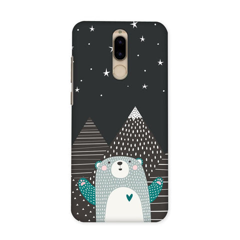 Bear Under The Stars Case for Honor 9i