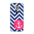 Navy Anchored Case for Honor E5