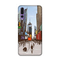 City On The Canvas Case for Honor P20 Pro