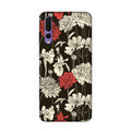 Black Flora Case for Honor P20 Pro