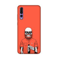 Red Skelly Case for Honor P20 Pro