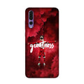 Greatness Case for Honor P20 Pro