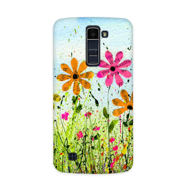 Printed Hue Case for  LG Q7