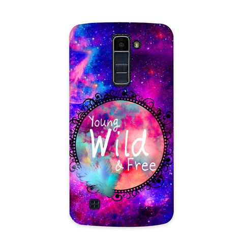 Wild & Free Case for  LG Q7