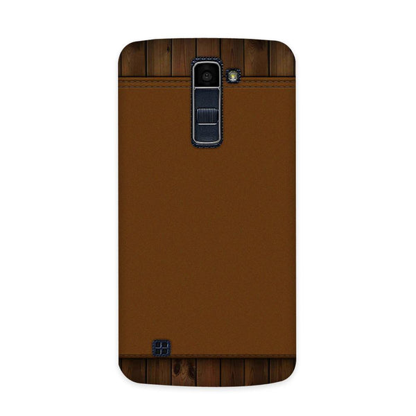 Brown Cosmo Case for  LG Q10