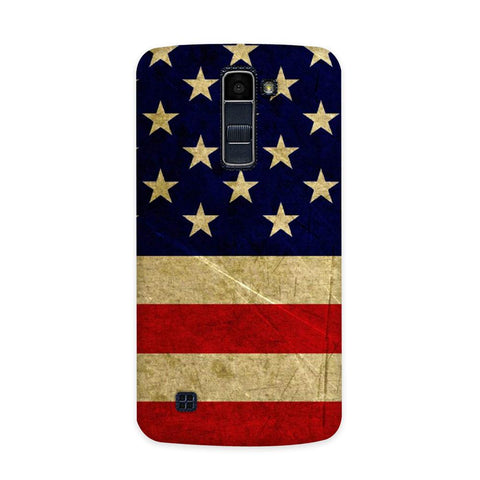 US Flag Case for  LG Q10
