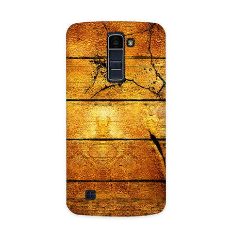 Wood Plank Case for  LG Q7
