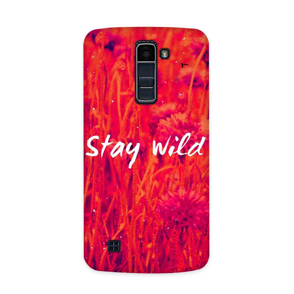 Stay Wild Case for  LG Q7