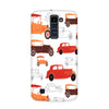 Vintage Wheels Case for  LG Q10