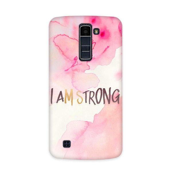 I Am Strong Case for  LG Q10
