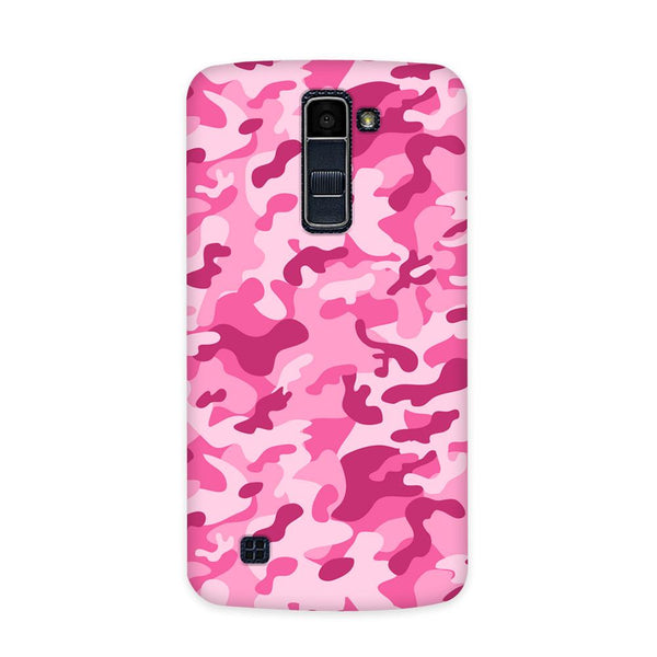 Pink Camouflage Case for  LG Q10