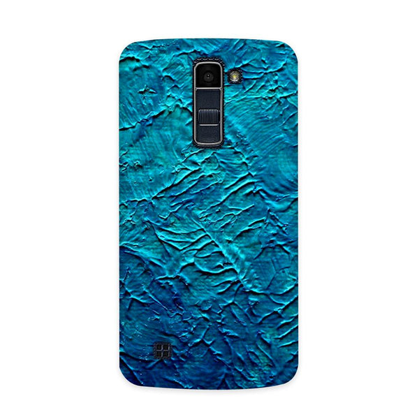 Painted in Blue Case for  LG Q7