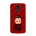 Grow A Beard Case for  LG Q10