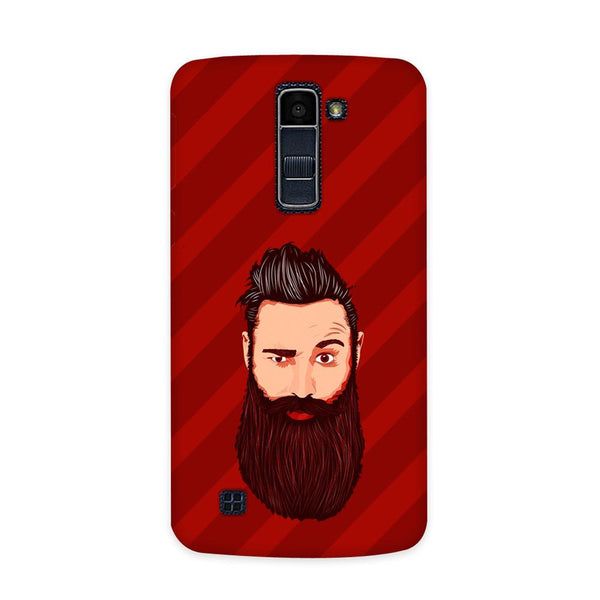 Grow A Beard Case for  LG Q7
