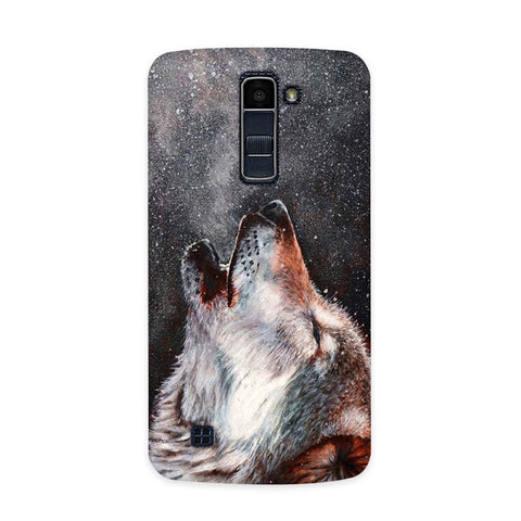 Winter Dog Case for  LG Q7