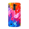 Canvas Love Case for  LG Q7