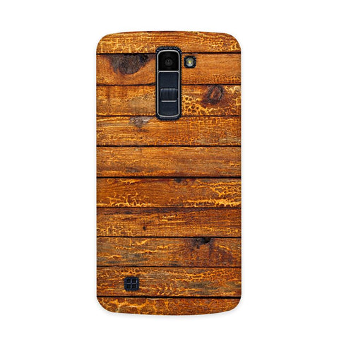 Wooden Vio Texture Case for  LG Q7