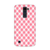 Pinky Checks Case for  LG Q10