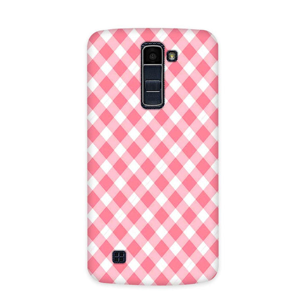 Pinky Checks Case for  LG Q7